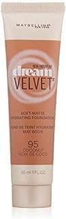 Myb Drm Velvet Fndtn 95 C Size 1.0 O Maybelline Dream Velvet Foundation 95 Coconut 1.0oz