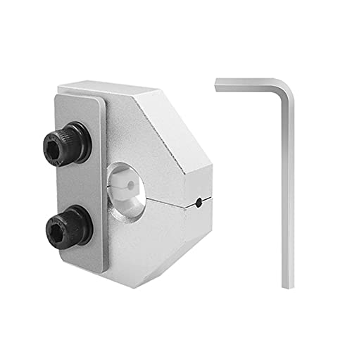 Mungowu 3D Printer Filament Welding Machine Connector Aluminum 1.75/3.0mm with Wrench for Ender 3/ SKR Anet SKR