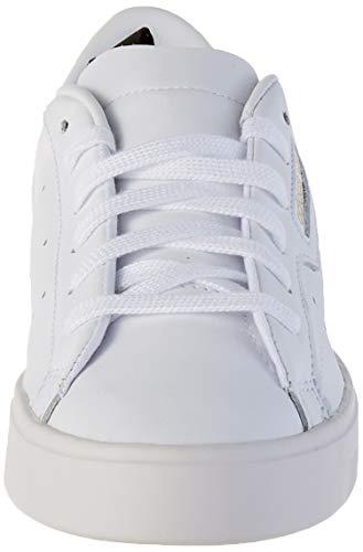 adidas Sleek W, Zapatillas Deportivas Mujer, FTWR White FTWR White Crystal White, 36 EU