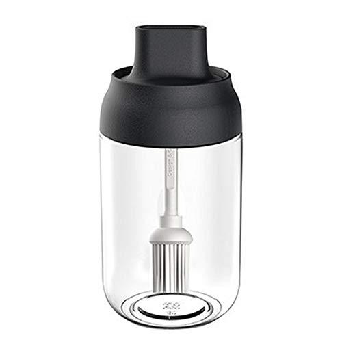 JOJYO Ölflasche,Bürste Ölflasche zum Grillen, Salat Machen, Kochen, Backen, Braten, Grillen 1pc