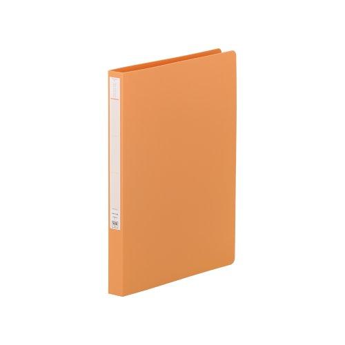 リヒトラブ パンチレスファイル A4 橙 F367-3