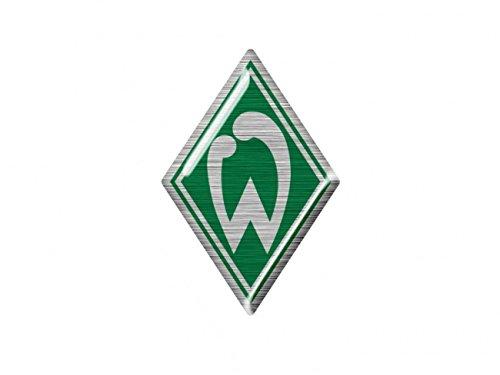 Werder Bremen Sticker/Aufkleber Raute 3 D