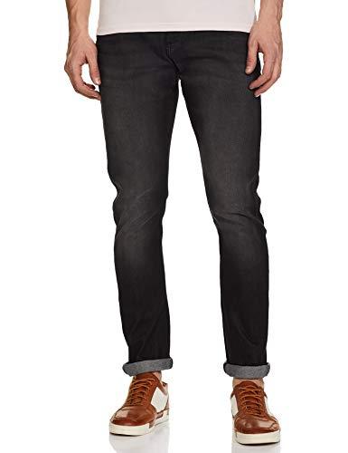 Wrangler Men's Skinny Fit Jeans (W38705W22SMU036033_Jsw-Black_36W x 33L)