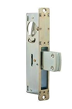 Global Door Controls TH1101-1-1/8-ALM 1-1/8 in Aluminum Mortise Lock with Deadlock Function