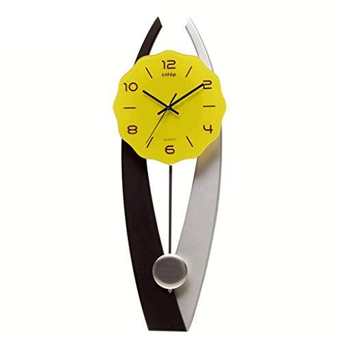 Atmosphère À La Mode Et Contractée Horloge Salon Originalité Horloge Murale Sourdine Pendule Horloge Ménage Horloge Moderne Décoration Horloge Murale