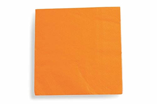 Galileo Casa Everyday Lot de 20 Serviettes en Papier Orange