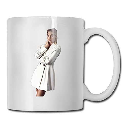jianpanxia Mǎrgót ElǐsÉ RóbbǐÉ Kaffeetassen 11oz Keramiktasse Neuheit Keramik Kaffeetasse Persönlichkeit Wassertasse