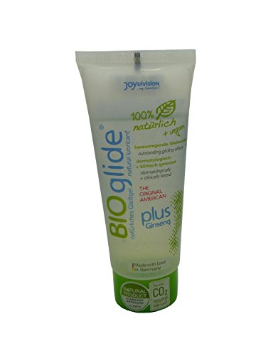 American BIOglide plus Ginseng - Lubricante vegano (precio base 100 ml)