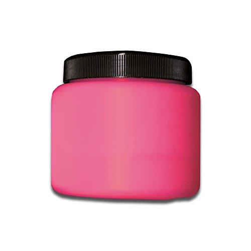 Eventlights NEON Farbe - UV Leuchtfarbe - Wandfarbe - Bastelfarbe - Schwarzlicht (500 ml, rot/pink)