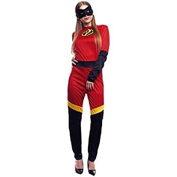 Disfraz Party Heroína mujer (S): Amazon.es: Juguetes y juegos