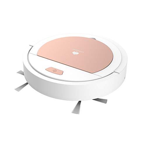 MYXMY Limpieza Recargable Robot Limpiador vaccumm Mini Inteligente barredora aspiradora USB Barrido Limpiador de Vacum Robot inalámbrico del hogar Vacío (Color : A)