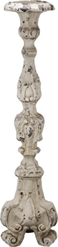 "A&B Home Magnesia Candle Holder, 7"" x 7"" x 27.5"""