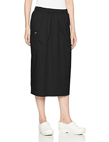 WonderWink 'WonderWORK Women's Pull On Cargo Skirt Black LG