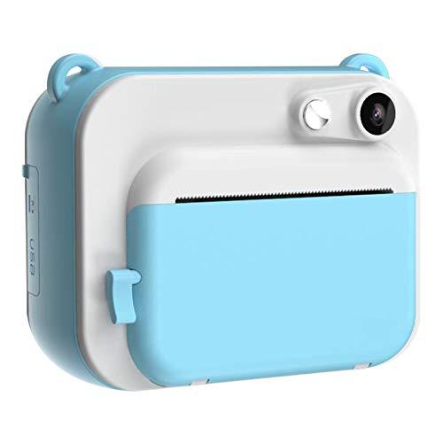 YOUQING Cámara integrada de impresión de cámara: Disparo instantáneo impresión de Alta definición Regalo Deportivo de cámara Digital para niños