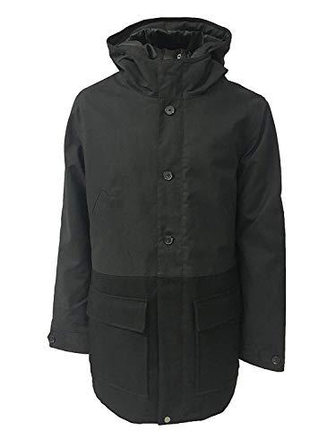 elvine Jacke Mann Mod JKT Schwarz Farbe Äußere 60% Wolle 40% Polyester - Schwarz, L