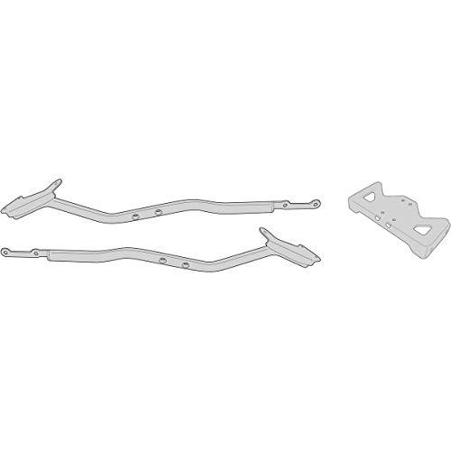 Givi 1152FZ Monorack Arme für Topcase Montage, Schwarz, 40