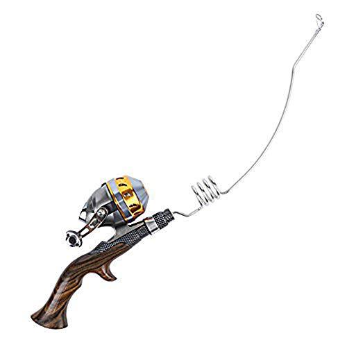 Emmrod Fishing combo casting pole Spinning rod Spincast reel Stainless portable casting fishing pole Precious ebony handle fishing rod PQ-4C-B