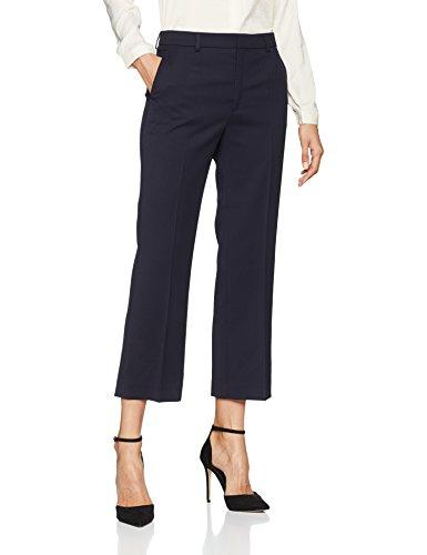 Filippa K Damen Hudson Twill Cropped Trousers Hose, Blau (Navy 2830), W40 (Herstellergröße: XL)