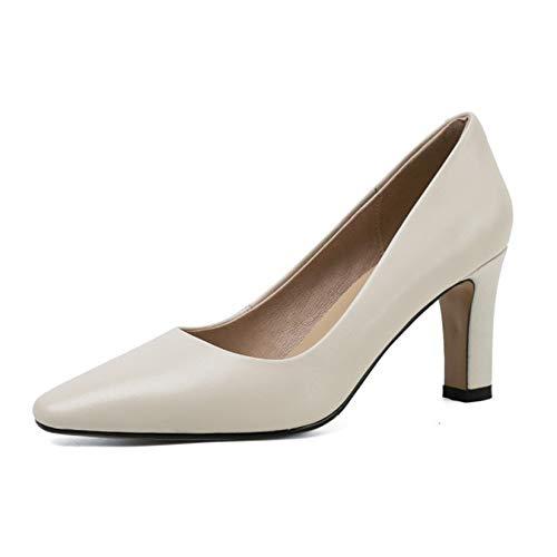 LLUVIAXHAN Zapatos De Tacón Alto Sin Cordones A La Moda para Mujer,...