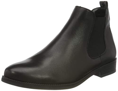 Remonte Damen R6381 Chelsea-Stiefel, schwarz/Rauch / 01, 40 EU