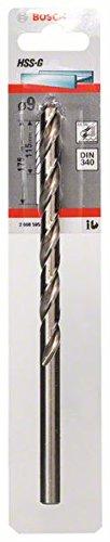Bosch Professional Metallbohrer HSS-G geschliffen mit langer Arbeitslänge (Ø 9 mm)
