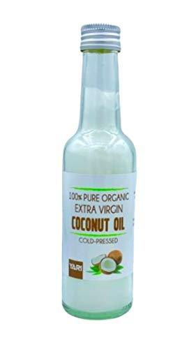 Yari Pure Organic Aceite de Coco 250 ml (Extra Virgen), Estándar, Único
