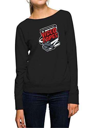 Certified Freak Video Tapes Sweater Girls Black M