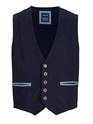 BABISTA Herren Sweatweste Marineblau 50 Baumwolle