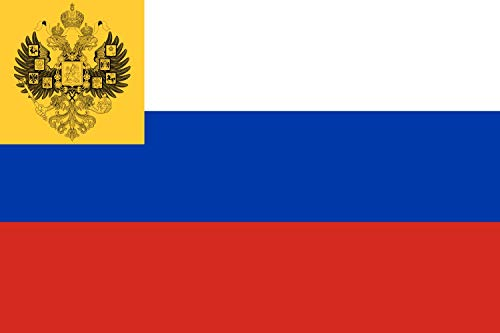 magFlags Flagge: Large Russian Empire for Private use 1914?1917   Russian Empire   L Empire Russe utilisé en privé en 1914?1917.Note Non officiel   Querformat Fahne   1.35m²   90