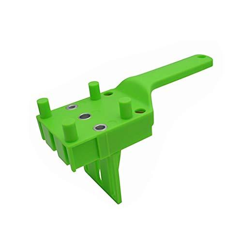 LLRYN Rápido Madera Doweling Jig Woodworking Oblique Hole Locator Durable Práctico Práctico Multifuncional bits de Pocket Hole Jig DIY Herramientas (Color : C)
