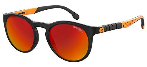 Carrera Gafas de sol HYPERFIT 18 / S 8LZ / UW Gafas de sol unisex color Negro Naranja tamaño de lente 54 mm