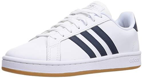 adidas Grand Court, Zapatillas de Tenis Hombre, FTWBLA/AZMATR/GUM10, 41 1/3 EU