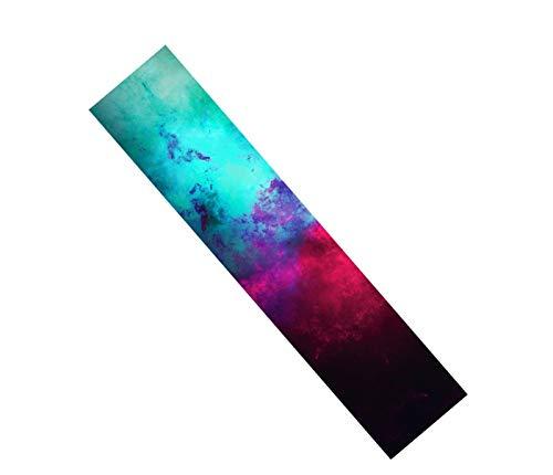 GUANGHEYUAN-J Cinta de Agarre de la patineta, 23x84cm, 52x26cm Gripe Gripe Chaptapes, Anti-Slid Colorful Graphic Deck Protector, Tablero de Bricolaje Piezas de patineta (Color : A6, Size : 23x84cm)