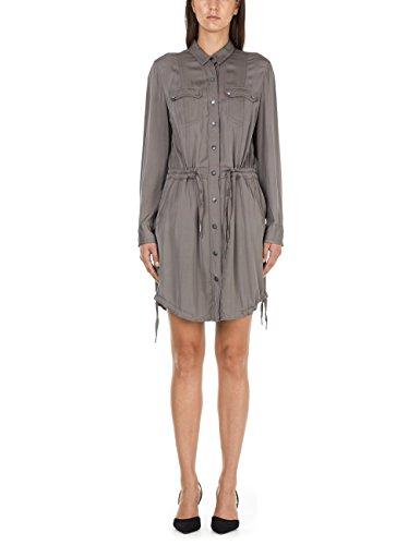 Marc Cain Sports Damen Kleid, Mehrfarbig (Midnight Blue 395), 40 (Herstellergröße: 4)