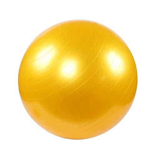 YANGHUI Mini Pilates Ball, Gymnastikball für Bauch-Beine-Po Übungen,Gelb-72cm