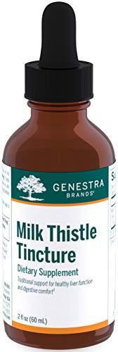 Genestra Brands - Milk Thistle Tincture - Herbal Supplement to Support Liver Function - 2 fl. oz.