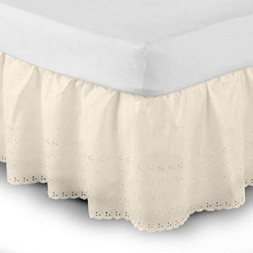 profesional ranking Funda de sofá Belledorm con logo Easy Fit y bordado inglés (doble) (crema) elección