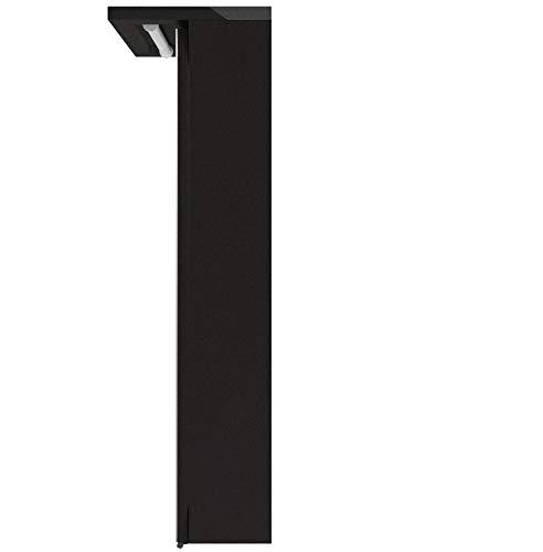 Held Möbel 009.1.0042 3D Spiegelschrank 60, Holzwerkstoff, graphitgrau, 20 x 60 x 66 cm