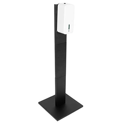 OIHODFHB Handtvåldispenser golvstativ intelligent induktion kontaktfri tvålbehållare svart 9004H+108 spraymodell 1500 ml