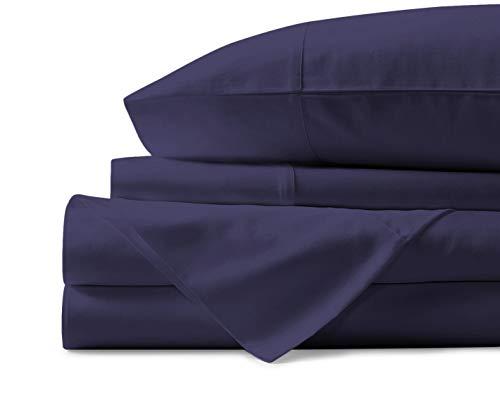 Mayfair Linen 100% Egyptian Cotton Sheets, Plum...