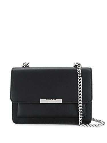 Luxury Fashion | Michael Kors Dames 30S9SJ4L9L001 Zwart Leer Schoudertassen | Lente-zomer 20