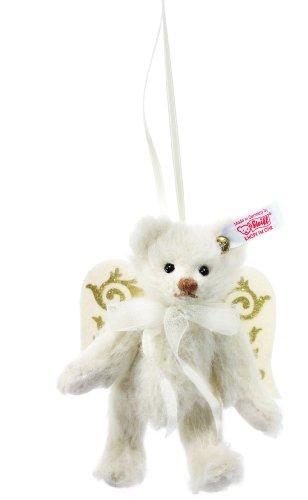Steiff 035319 Teddybär 10 Alpaca weiß Engel