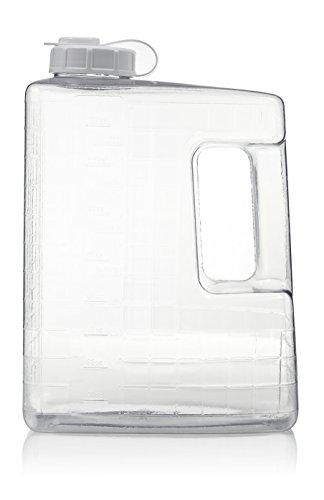 Arrow Home Products Gallon Refrigerator Bottle, Clear
