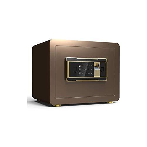 CHUXJ Inicio Safe grande electrónica digital for la joyería Dinero seguro Cash Passport Caja de seguridad pequeña oficina en casa contraseña segura antirrobo alarma mini huella digital de almacenamien