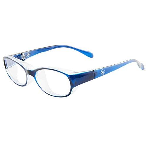 QCLU Gafas de Seguridad Anti-Polen para niños, Fiebre de heno Gafas Infantiles Polen Gafas Gafas, Anti-Azul Luz de protección de Ojos Protectores UV Gafas de Sol de Lentes Transparentes