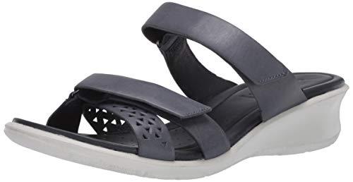 ECCO FELICIASANDAL, Pantofole Donna, Blu (Marine 2038), 42 EU
