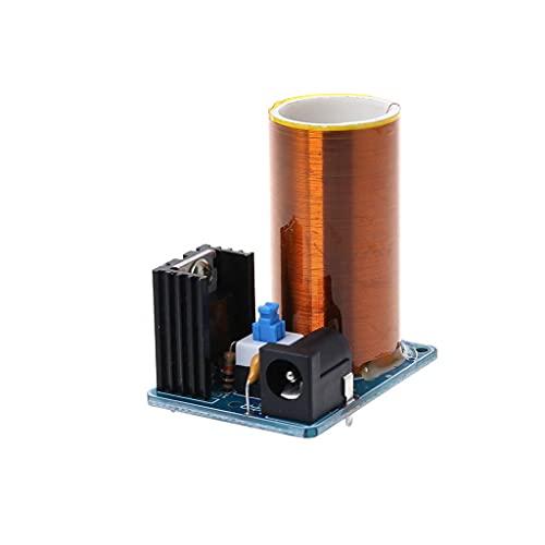 Circuito integrado DealMux, 9-12 V BD243 Mini kit de bobina Tesla, electrónica, piezas de bricolaje, transmisión inalámbrica, juego de placa de bricolaje