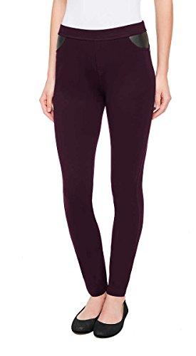 DKNY Ponte-Hose für Damen - Violett - X-Klein