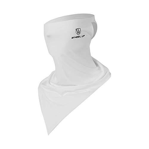 【夜間反射機能】ネックカバー 冷感 フェイスカバー ネックガード UVカット 紫外線対策 メンズ ひんやり UPF50+ 日焼け防止 UVフェイスガード 伸縮/通気性 吸汗速乾 メンズ