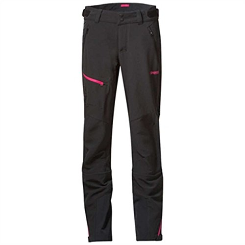 Bergans Osatind Damen Hose, Farbe Black/Hot Pink, Größe L